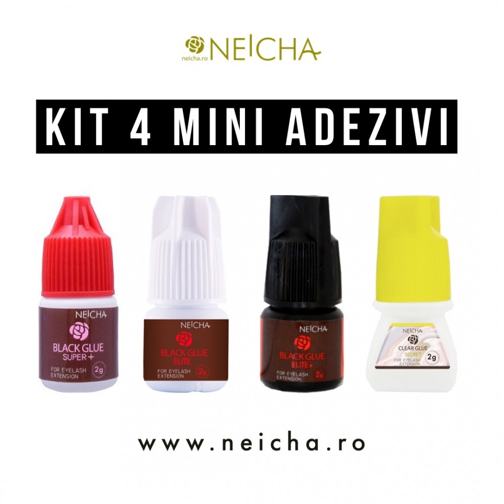 NEICHA KIT 4 MINI ADEZIVI