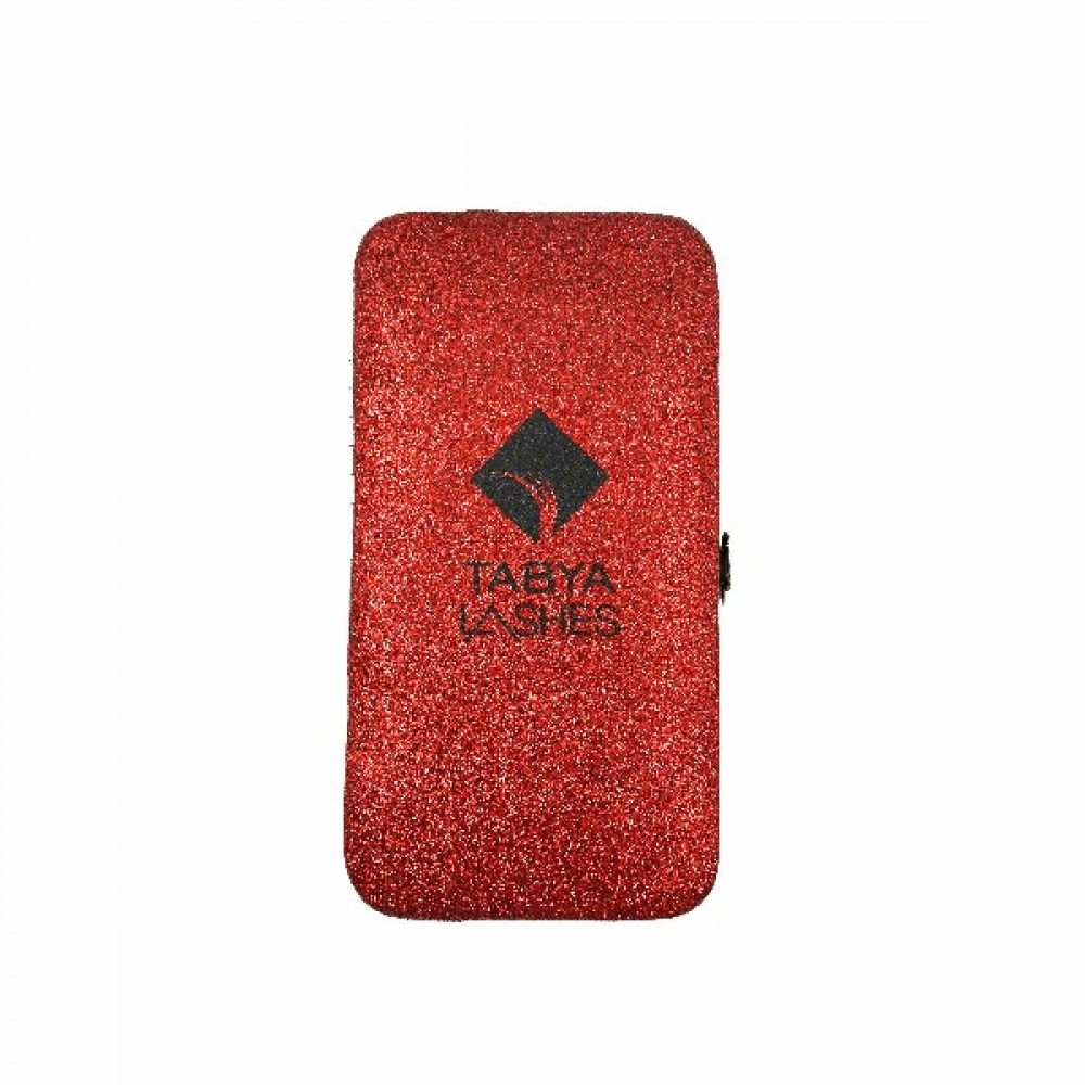 TABYA CASE MAGNETIC GLITTER (RED)