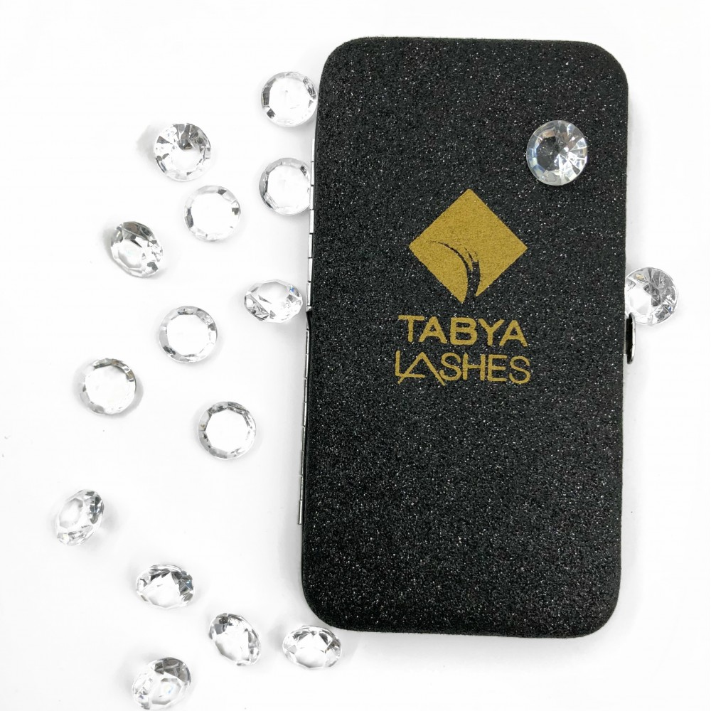 TABYA CASE MAGNETIC GLITTER (BLACK)