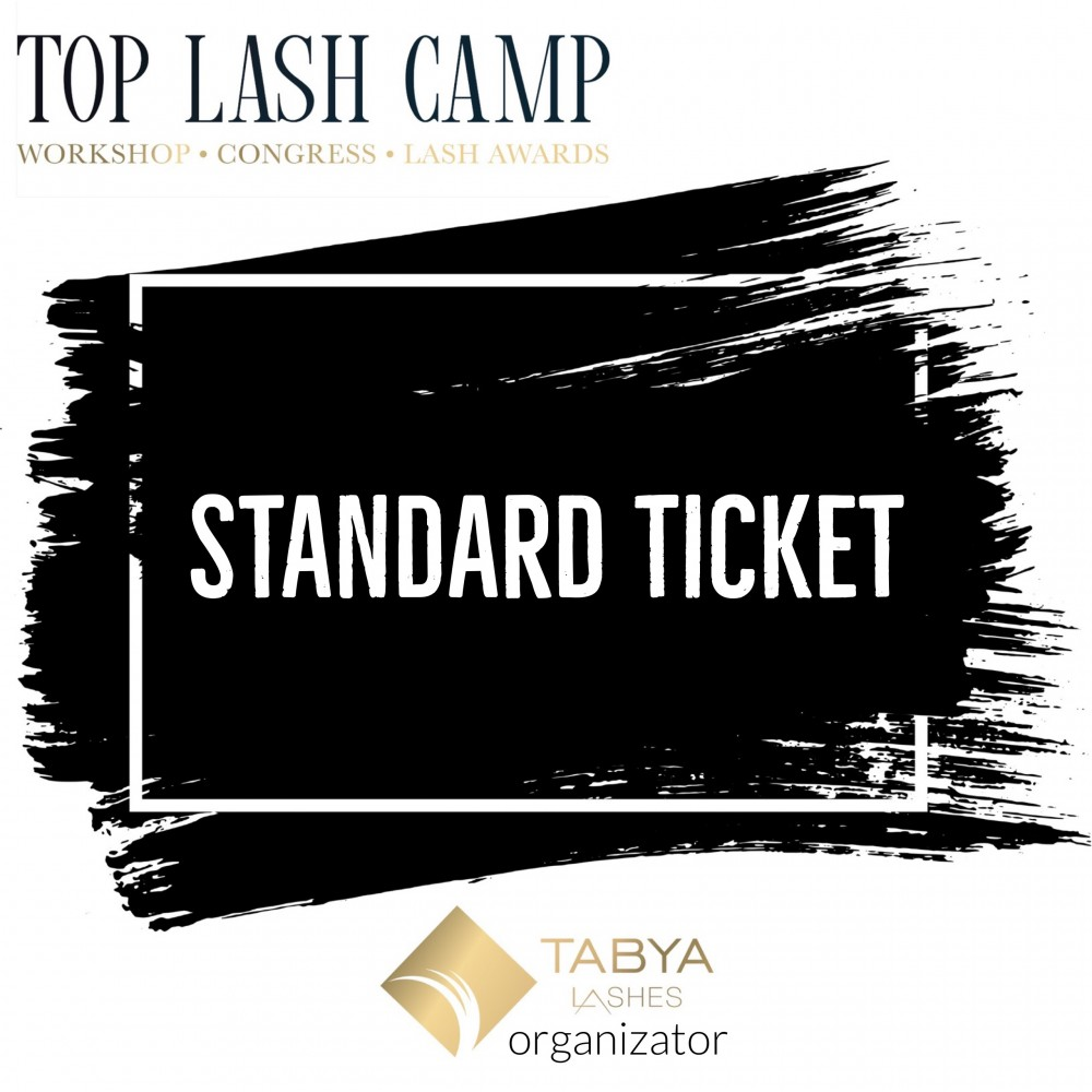 TOP LASH CAMP BILET STANDARD