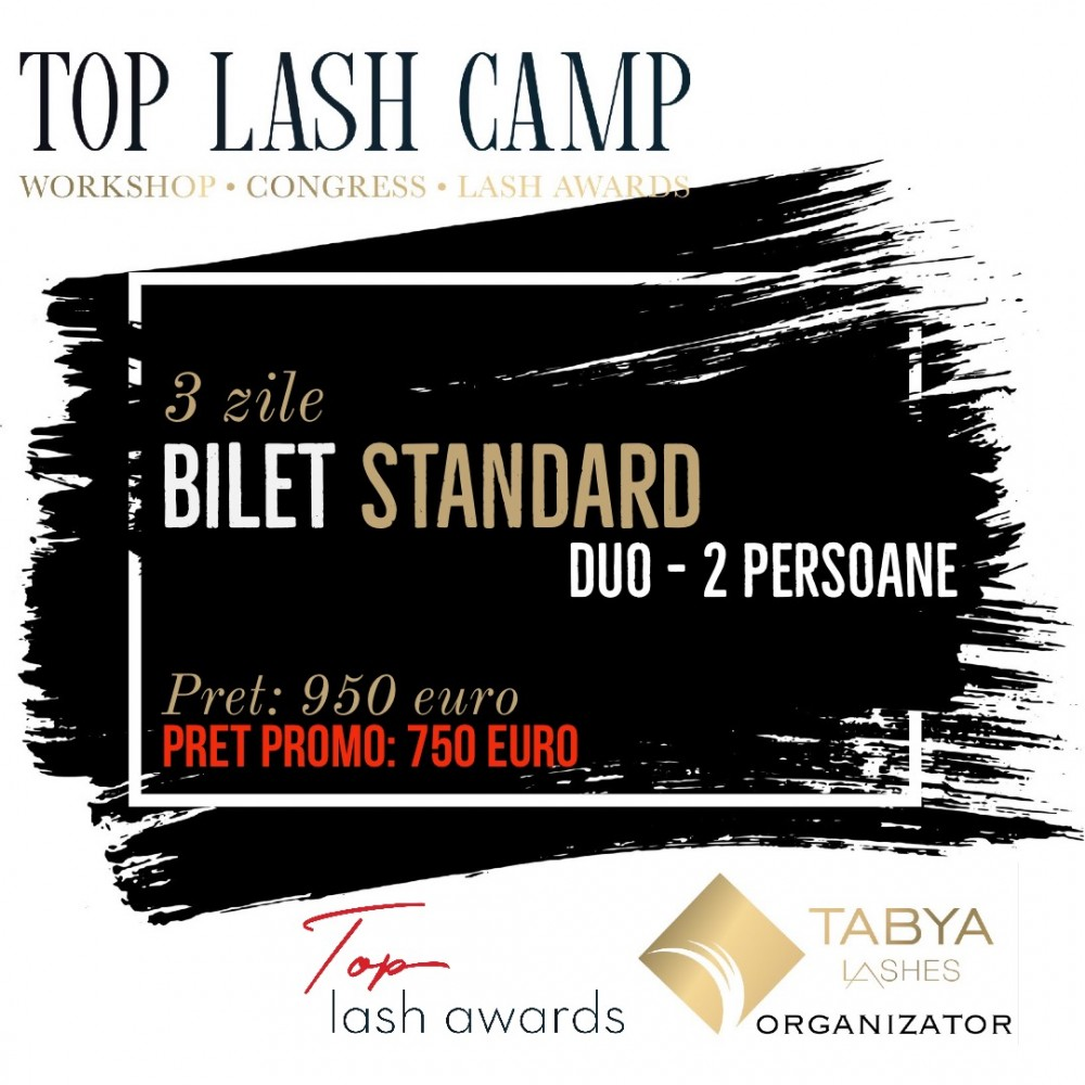 TOP LASH CAMP BILET DUO