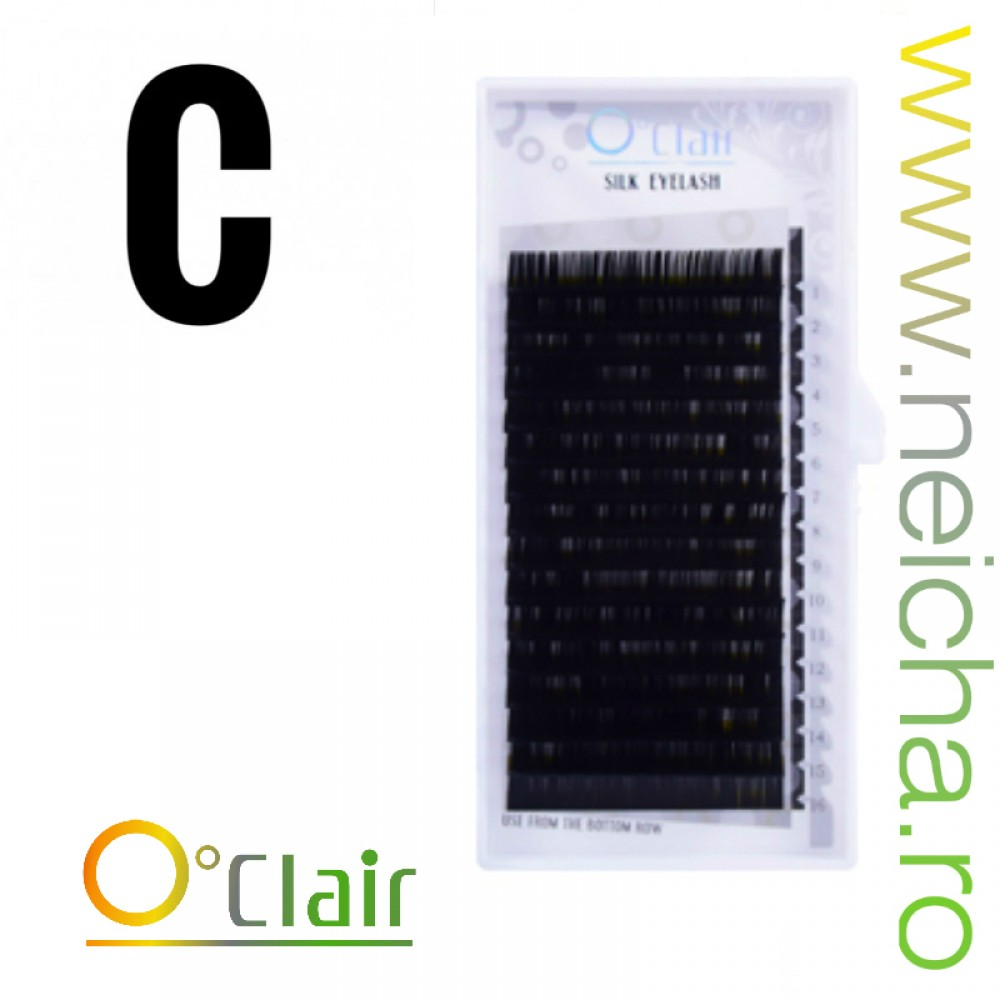 O'CLAIR SILK LASHES C_0,15