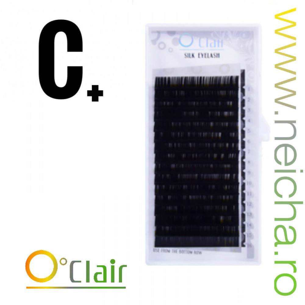 O'CLAIR SILK LASHES C+_0,15