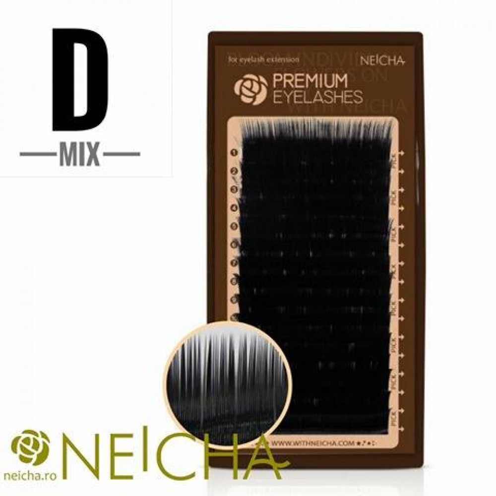 NEICHA PREMIUM LASHES D MIX